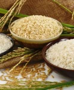 Rice Grains & Nuts