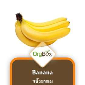 Organic Bananas (กล้วยหอม) 5 pieces