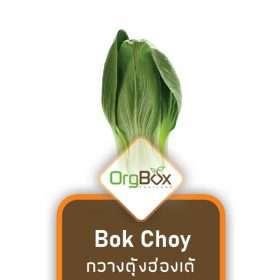 Organic Bok Choy (กวางตุ้งฮ่องเต้) 300 g.