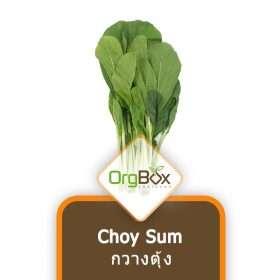 Organic Choy Sum (กวางตุ้ง) 300 g.