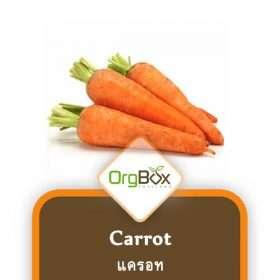 Organic Carrots (แครอท) 500 g.