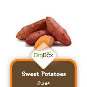 Organic Sweet Potatoes (มันเทศ) 1,000 g.