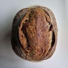 Roasted Rye Malt Sourdough (Vegan)
