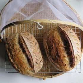 Seven Seeds Sourdough Bread (Vegan)