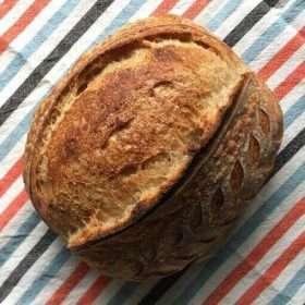Country Sourdough Bread (Vegan)