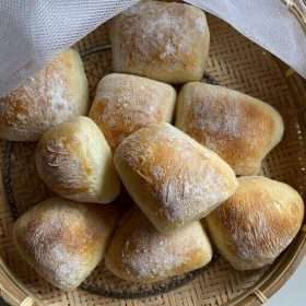 Sourdough Ciabatta(Vegan) 4 pieces