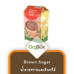 Organic Brown Sugar (น้ำตาลทรายแดงอินทรีย์) 800 g.