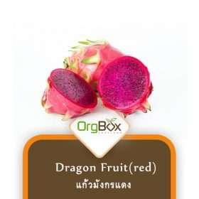 Organic Red Dragon Fruit (แก้วมังกรแดง) 1,000 g.