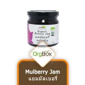 Organic Mulberry Jam (แยมมัลเบอรี่) 250 g.
