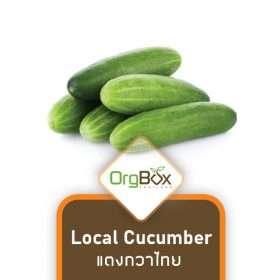Organic Local Cucumber (แตงกวาไทย) 500g.
