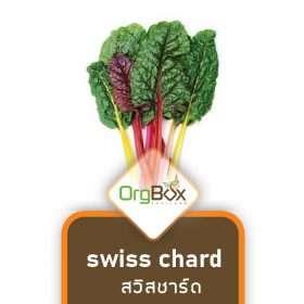 Organic Swiss Chard (สวิสชาร์ด) 300 g.