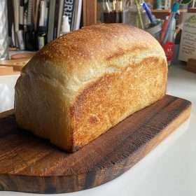 Olive Oil Soft Toast Sourdough (Vegan)